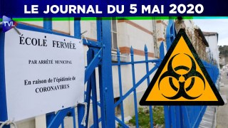 JT – Coronavirus : le point d'actualité – Journal du mardi 5 mai 2020