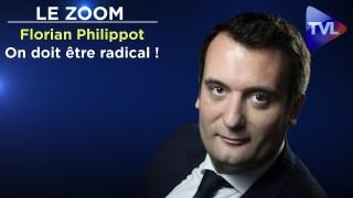 """Rassemblement des souverainistes :""""On doit être radical"""" – Florian Philippot – Le Zoom – TVL"""