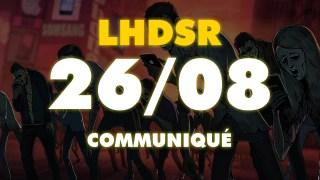 2019 – LHDSR Court Communiqué avant la prochaine vidéo