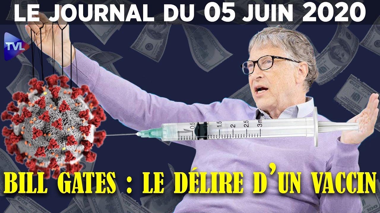 Covid-19 : après l'enfermement de force, le vaccin ? – Journal du vendredi 5 juin 2020
