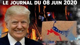 Face à Donald Trump, les démocrates récupèrent la mort de George Floyd – Le Journal du 8 juin 2020