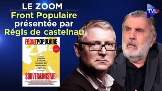 Front Populaire : la revue souverainiste de Michel Onfray présentée par Régis de Castelnau – Le Zoom