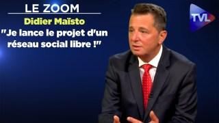 """Le Zoom avec Didier Maïsto :""""Je lance le projetd'un réseau social libre !"""""""