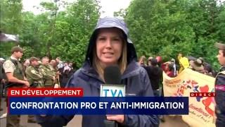 Tension À La Frontière Entre Pro Et Anti Immigration – TVA 1 Juillet 2017