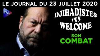 Dupond-Moretti : l'avocat des djihadistes ? – JT du jeudi 23 juillet 2020
