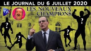 Macron et le remaniement de la fin – JT du lundi 6 juillet 2020