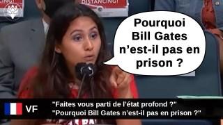 """[VF] """"Pourquoi Bill Gates n'est-il pas en prison ? Faites vous parti de l'état profond ?"""""""
