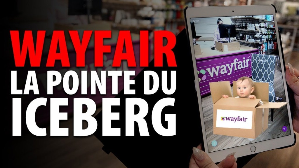 WAYFAIR – LA POINTE DU ICEBERG
