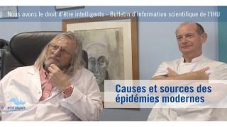 Causes et sources des épidémies modernes
