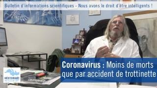 Coronavirus : Moins de morts que par accident de trottinette