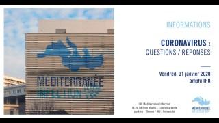 IHU Méditerranée Infection & Coronavirus : Questions/Réponses