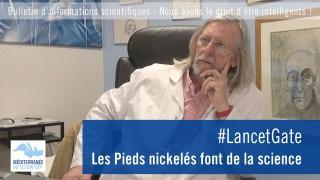 #LancetGate. Les Pieds nickelés font de la science