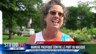 MARCHE PACIFIQUE CONTRE LE PORT DU MASQUE 23 AOÛT 2020 – VOX POP