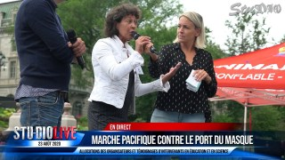 MARCHE PACIFIQUE CONTRE LE PORT DU MASQUE 23 AOÛT 2020 – DISCOURS PARTIE 2