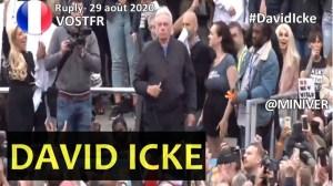 [CENSURÉ] [VOSTFR] Discours de David Icke lors du rassemblement 'S'unir pour la liberté' Londres 29 août 2020
