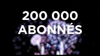 200 000 abonnés ! MERCI !