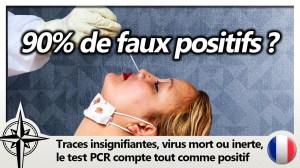 90% des tests PCR pratiqués aux États-Unis pourraient être des faux positifs