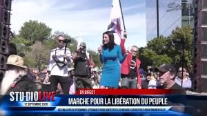 DISCOURS DE LUCIE LAURIER – MANIFESTATION DE MONTRÉAL 12 SEPTEMBRE 2020