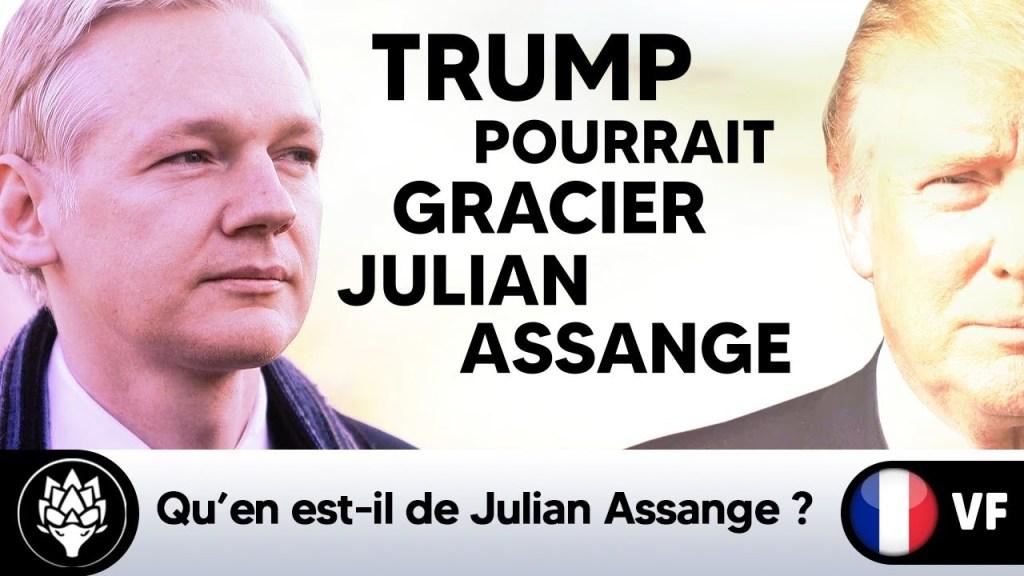 Donald Trump pourrait gracier Julian Assange #Wikileaks