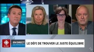 Les propos se nuancent sur RDI — Le panel politique du 14 septembre 2020 (Buzetti, Biron, Dufour)