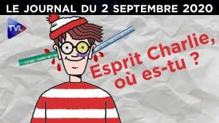 Liberté d'expression : Esprit Charlie, où es-tu? – JT du mercredi 2 septembre 2020