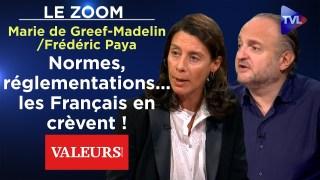 M. de Greef-Madelin et F. Paya (VA) : Normes, réglementations… les Français en crèvent