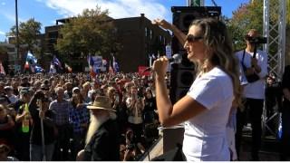 Michelle Tavarez – 12 septembre – Marche à Montréal #FDDLP