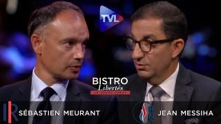 Sébastien Meurant (LR) dans l'arène face à Jean Messiha (RN) – Bistro Libertés – TVL