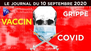 Vaccin contre la grippe : le remède contre le Covid-19 ? – JT du jeudi 10 septembre 2020