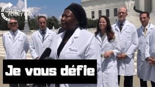 [CENSURÉ] [VOSTFR] Le docteur Stella Immanuel défie le docteur Anthony Fauci (test d'urine à l'HCQ)