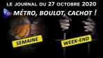 Covid 19 : La 2ème vague de confinement arrive – JT du mardi 27 octobre 2020