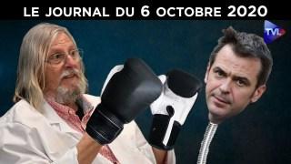 Covid-19 : les révélations de Didier Raoult – JT du mardi 6 octobre 2020
