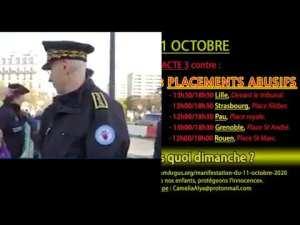 Dimanche 11 octobre, des victimes de pédocriminalité et de placements abusifs prendront la parole