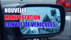 MANIFESTATION ORIGINALE: 1ER CONVOI DE VÉHICULES CONTRE LES MESURES SANITAIRES EXAGÉRÉES AU QUÉBEC!