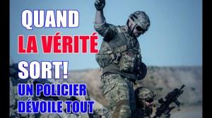 QUAND LA VÉRITÉ SORT! UN POLICIER DÉVOILE TOUT AU PÉRIL DE SON EMPLOI!