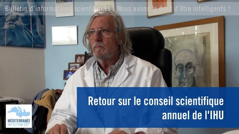Retour sur le Conseil scientifique annuel de l'IHU