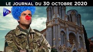 Terrorisme islamiste : l'impuissance de Macron – JT du vendredi 30 octobre 2020