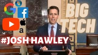 [VOSTFR] Le sénateur Josh Hawley au sénat pour légiférer contre le pouvoir de Big Tech [CENSURÉ]