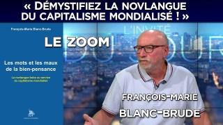 Zoom avec François-Marie Blanc-Brude : « Démystifiez la novlangue du capitalisme mondialisé ! »