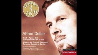 Bach : Wie jammern mich doch die verkehrten Herzen (Cantate BWV 170), par Alfred Deller