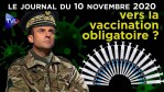 Covid-19 : confinés, masqués et bientôt vaccinés ! – JT du mardi 10 novembre 2020