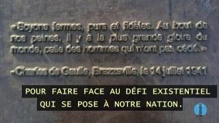 Hommage au Général de Gaulle, un puissant allié du Québec