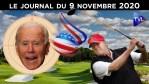 Joe Biden proclamé gagnant par le Système – JT du lundi 9 novembre 2020