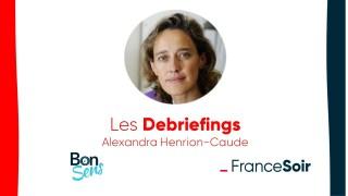 Le debriefing d'Alexandra Henrion-Caude
