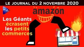 Le gouvernement contre les petits commerçants – JT du lundi 2 novembre 2020