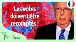 Le sénat encourage Donald Trump à recompter les bulletins de vote – Mitch McConnell