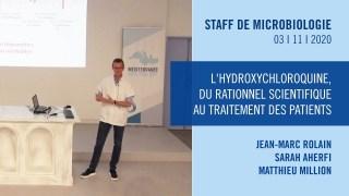 L'hydroxychloroquine, du rationnel scientifique au traitement des patients