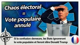 Trump élu par la Constitution plutôt que par le peuple  ?