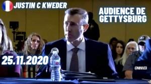 [VOSTFR] Audience Intégrité Électorale, Justin C Kweder, Pennsylvanie, 25.11.2020