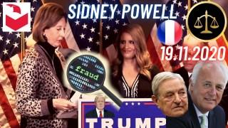 [VOSTFR] Sidney Powell s'exprime lors de la conférence de presse du 19 novembre 2020